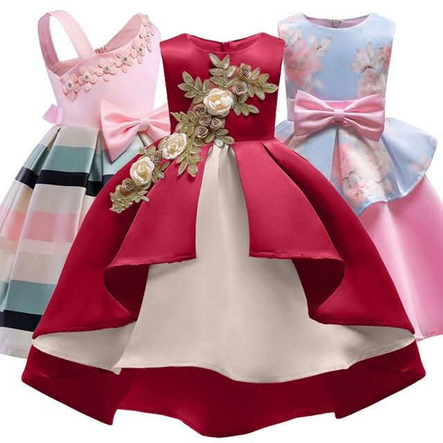 3dba888796d77 Robes pour enfants pour filles robe de princesse élégante robes de filles  de fleur pour la