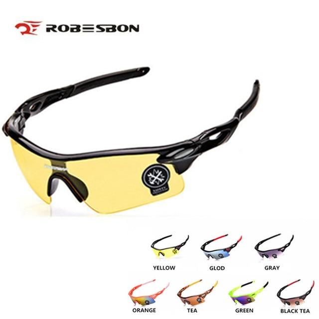 81ffddf120a5 ROBESBON Pria Wanita UV400 Olahraga Outdoor Mendaki Gunung Kacamata Sepeda  Kaca Cycling Sunglasses Oculos Ciclismo