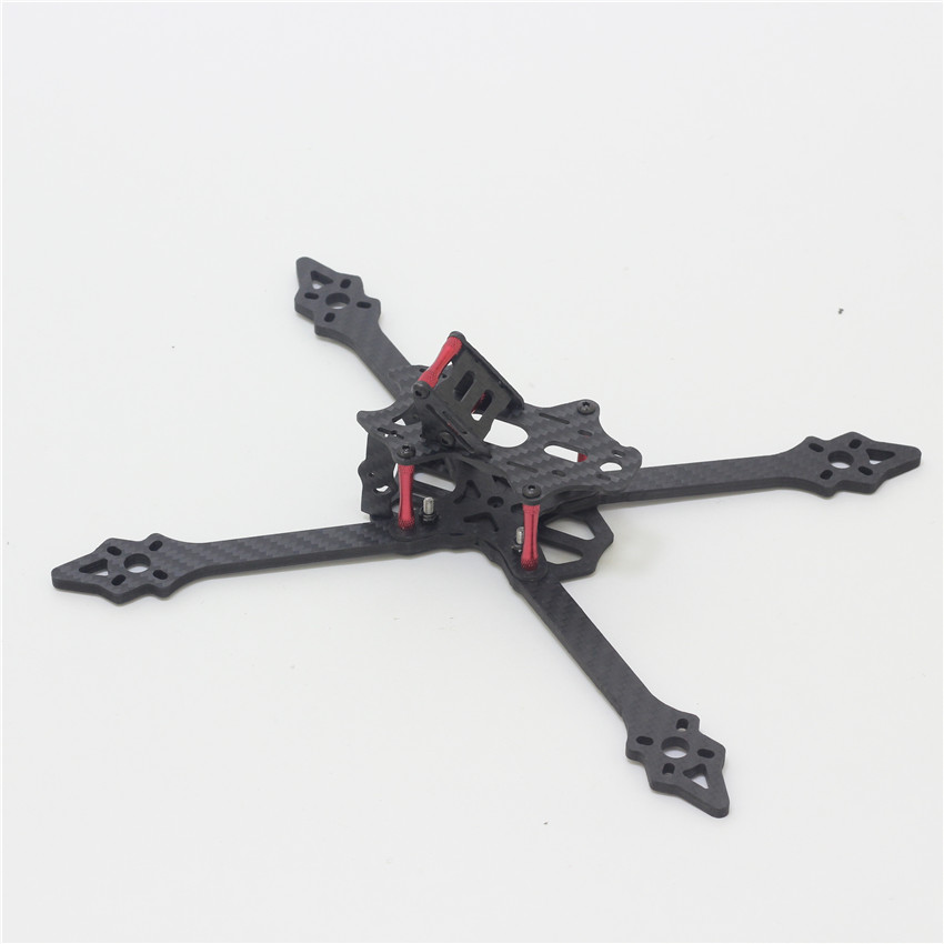 220mm Upgrade VX220 Carbon Fiber Frame 210mm Quadcopter Mini 4-Axis Multi FPV Racing Drone with 4mm Thickness Arm diy carbon fiber frame arm with motor protection mount for qav250 zmr250 fpv mini cross racing quadcopter drone