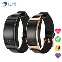 Teyo CK11S Smart Band монитор сердечного ритма сна трекер Шагомер наручные часы умный браслет для Android и IOS