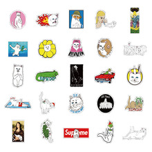 Pvc Stickers Funny Cat 50pcs/lot Waterproof