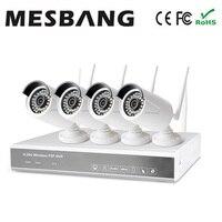 Mesbang 960 P 4ch NVR kits bom para pequena loja e escritório frete grátis por DHL Fedex