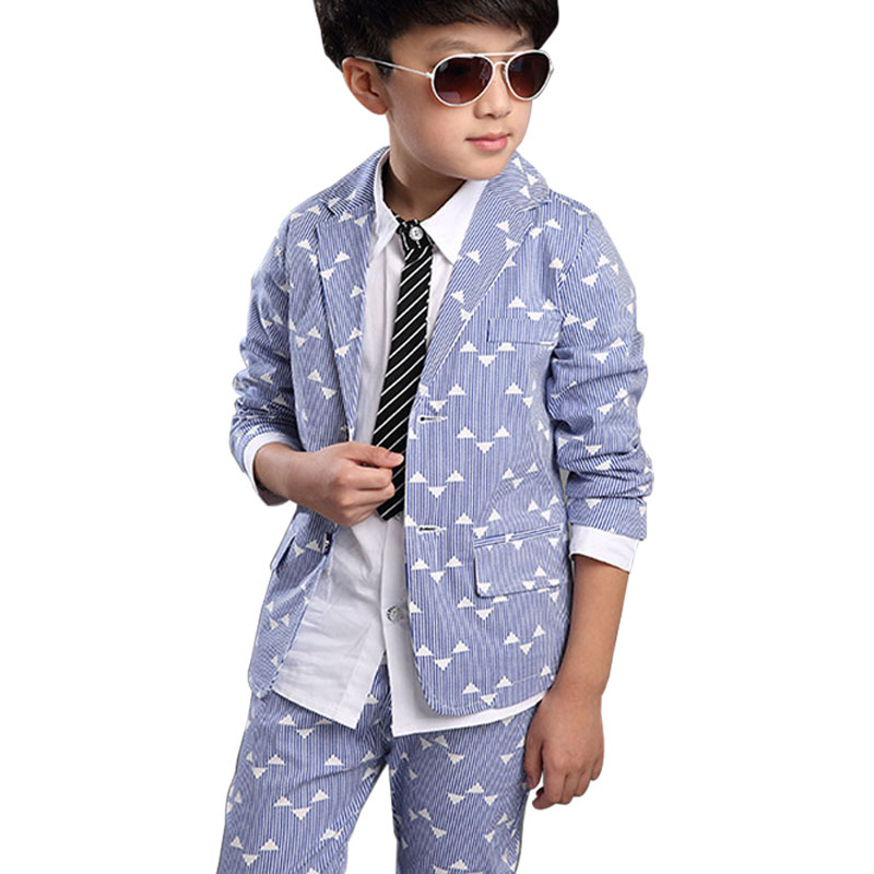 Kid Formal Suits Boy Blazer Suit Set Children Boy 3pcs /set Classic Suit ( blazer & pants and shirt ) for Boy Suit Clothing Set t016 new fashion boy suit jacket children show host children s piano vest suit t shirt vest pants bow tie boy blazer suit
