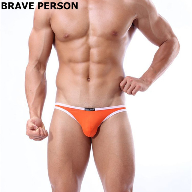 Nylon Spandex Low Waist Male Underwear