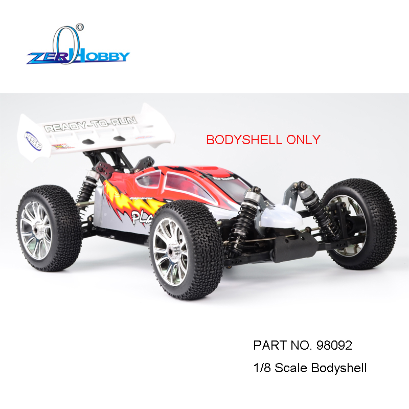 HSP BODYSHELL# 98091 98092 RC CAR SPARE PARTS ACCESSORIES FOR HSP 1/8 SCALE OFF ROAD BUGGY RC CAR MODEL NO. 94980 hsp 62021 center dogbone f 1 8 scale models spare parts for rc model cars himoto 94762