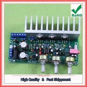 Image 3 - TDA2050 + TDA2030 2,1 трехканальный/канальный модуль, Плата усилителя сабвуфера, готовая плата лапки 60 Вт 0,6 кг