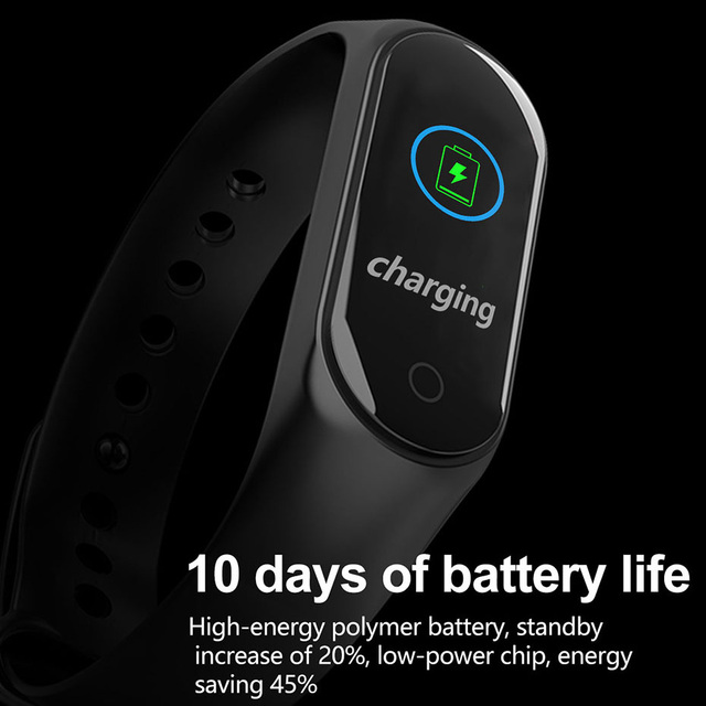 COLMI M4S Smart Bracelet Color-screen IP67 Fitness Tracker blood pressure Heart Rate Monitor Smart band For Android IOS phone