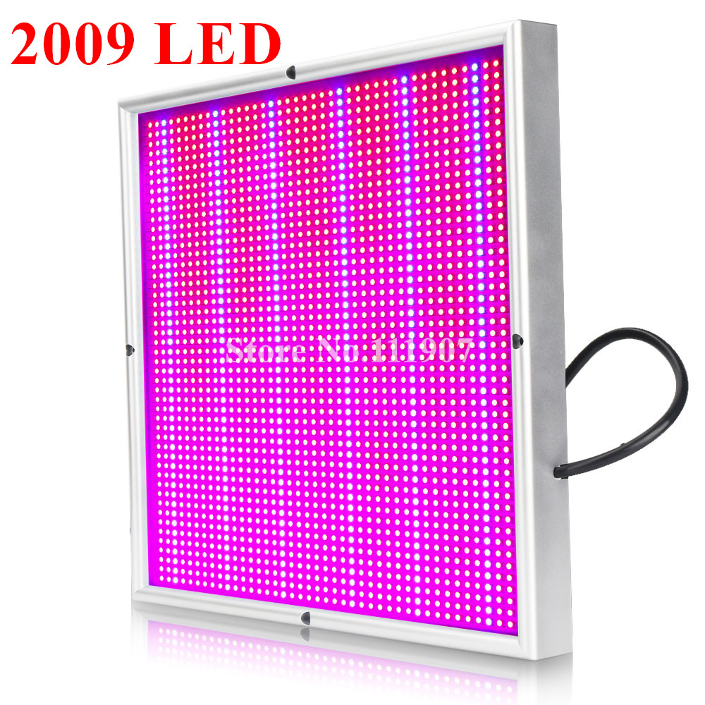 Full Spectrum 200W 2009 SMD AC85~265V LED Grow Light Indoor Plants Seedling Flower High Yield Lamps For Grow Tent Box Greenhouse 30w led grow light ac85 265v full spectrum 290led greenhouse plants hydroponics flower medicine panel grow light