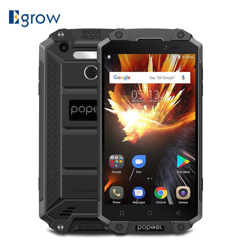 POPTEL P9000 Max 4 gb 64 gb IP68 Wasserdicht stoßfest Smartphone 5,5