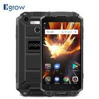 POPTEL P9000 Max 4GB 64GB IP68 Waterproof shockproof Smartphone 5.5 FHD MT6750V Octa Core 13MP NFC OTG Fingerprint Mobile Phone