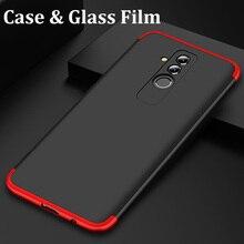 360 Full Case Huawei Mate 20 Lite PC Case Tempered Glass Film Huawei Mate 20 Cover Full Protection Case Huawei Mate 20 Lite msi b150 pc mate