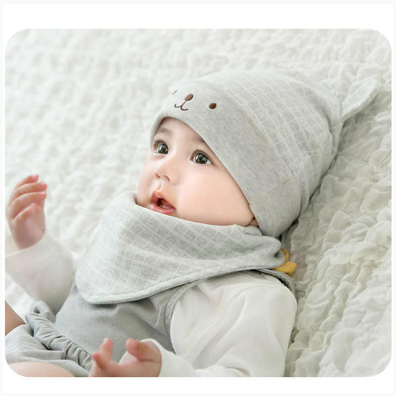 66e394e3c2f ... Autumn Winter Baby Hat and Mittens Girl Boy Cap Socks Comfy Infant Hat    Gloves Cotton ...