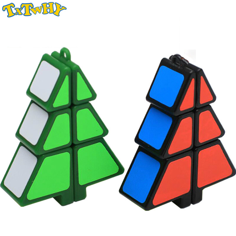 Zcube Christmas Tree Cube 1x2x3 Magic Cube Speed Puzzle Cubes Children Educational Toys