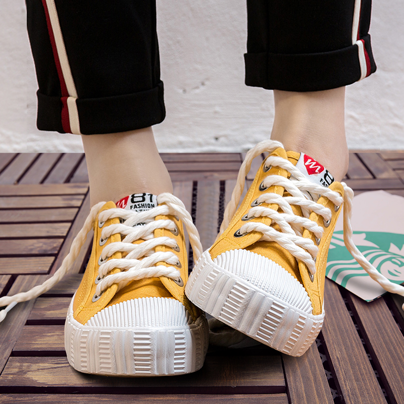 2017 Women Canvas Shoes Flats Ladies Platform Shoes Woman Slip On Solid Leisure Breathable Female Ladies Creepers Zapatos Mujer women canvas shoes 2017 spring autumn classic vulcanize women shoes footwear ladies creepers flats zapatos mujer chaussure femme