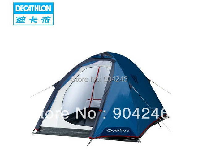 DECATHLON Mountaineering tent waterproof outdoor hiking c&ing Double layer breathable QUECHUA T2  sc 1 st  AliExpress.com & DECATHLON Mountaineering tent waterproof outdoor hiking camping ...