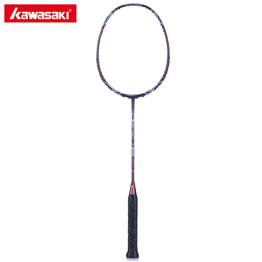 Kawasaki Badminton Racket Mao 18 II WOVEN-Ti Technology Badminton Racquet For Senior Players With Badminton Rackets Carry Bag