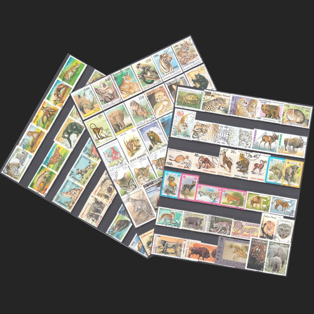 Topic Animal 100 pieces/lot No Repeat All Different Unused With Post Mark Postage Stamps From The World Wide For Collecting фильм кадеты topic index