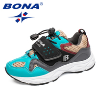 BONA New Arrival Hot Style Children Casual Shoes Hook & Loop Boys Shoes Synthetic Girls Shoes Comfortable Light Free Shipping