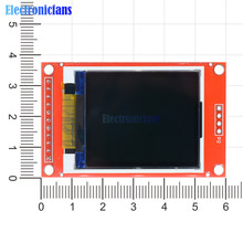 "1,"" 1,8 дюймов TFT ЖК-дисплей модуль ST7735S контроллер 128x160 51/AVR/STM32/ARM 8/16 бит плата привода для Arduino SPI I/O 11 Pin"
