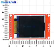 "1.8"" 1.8 Inch TFT LCD Display Module ST7735S Controller 128x160 51/AVR/STM32/ARM 8/16 bit Drive Board For Arduino SPI I/O 11 Pin(China)"