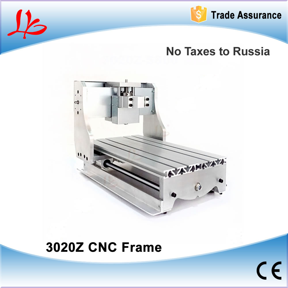 Free Taxes to Russia & Ukraine, All Aluminum CNC frame for CNC Engraving Machine. Much convenient to install. Suitable for 3020Z cnc 3020z cnc frame of engraving drilling and milling machine for diy cnc no tax to russia