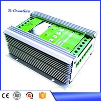 Высокая эффективность 1200 Вт 12/24 В автоматического выключения Grid умный MPPT Солнечный ветер гибридный контроллера заряда с ЖК дисплей дисплей
