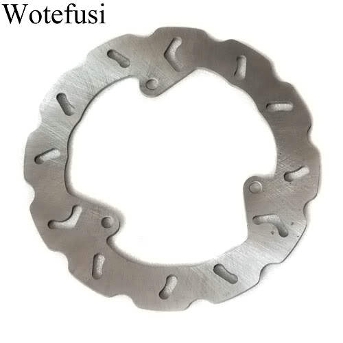Wotefusi Rear Brake Disc Rotor For Yamaha YP250 2000-2003 2001 2002 Majesty250 TTR250 [MT81] rear brake discs rotor for yamaha yzfr1 2003 2013 yzfr6 2003 2012 black motorcycle accessories