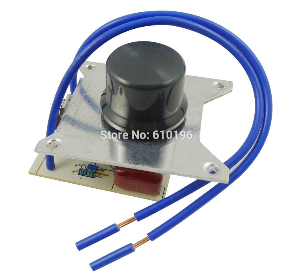 10PCS LOT 1000W SCR 220V Voltage Regulator Dimmer Speed Controller Switch With Heat Sink