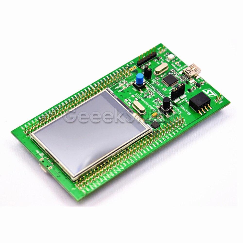 STM32F429I-DISCO Embeded ST-LINK/V2 STM32 TFT Touch Screen Evaluation Development Board STM32F4 DiscoveryKit STM32F429 цены