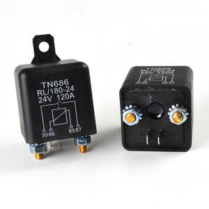 Car Truck Motor Automotive High Current Relay 12V/24V 120A 2.4W Continuous type Automotive relay car relays(China)