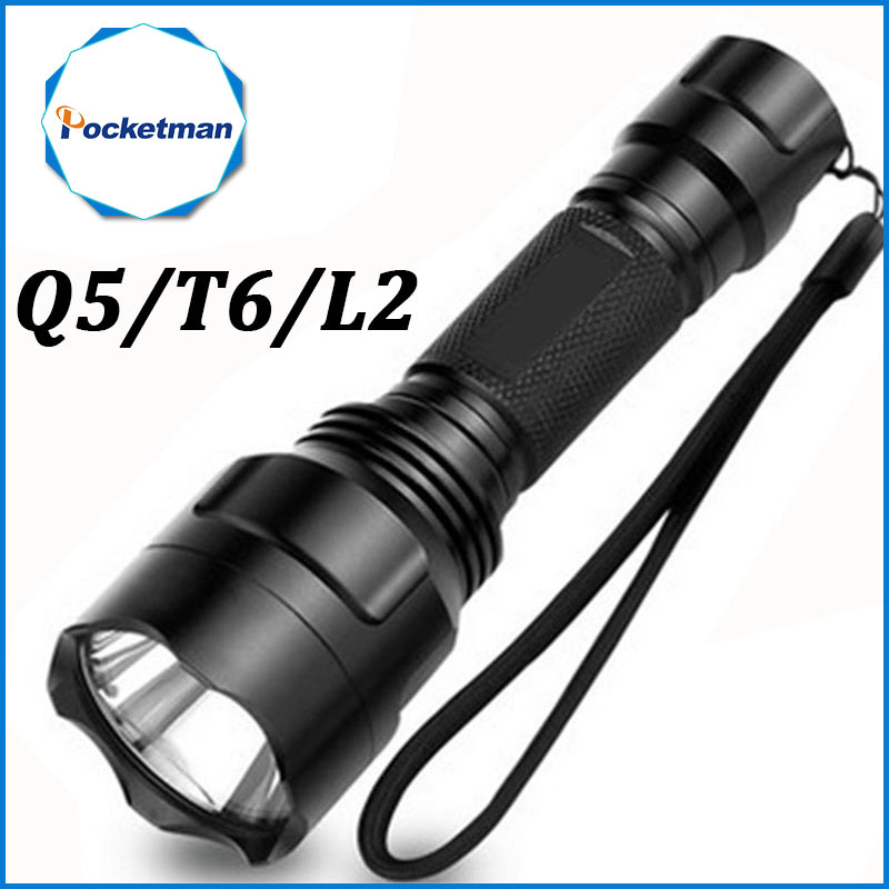 Led Flashlight 4000 Lumens Max CREE L2 T6 Q5 Flashlight Waterproof LED Torch lanterna Camping Hunting lampe de torche high quality outdoor flashlight cree t6 led searchlight torch for camping shock resistant lampe torche
