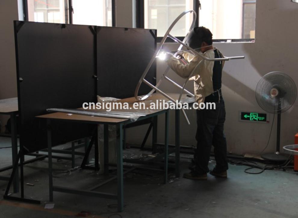 Лидер продаж SGZI-0020 круглый стеклянный стол шезлонги
