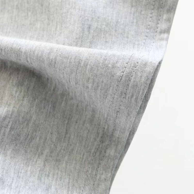 Ulzzang الشارع الشهير الكورية Kpop قمم الأزياء الإناث تي شيرت 90 s خمر المرضى من القرف المطبوعة التي شيرت النساء 80 s نعرفكم قميص