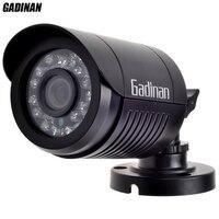 Gadinan mini bullet analógica cámara 1000tvl opcional a prueba de agua hd 24 unids 800tvl ir leds 3.6mm lente día/noche cubierta del abs de seguridad