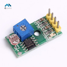 Photoresistor Sensor Module 4 Pin Light Control Module 3 3 5V for Arduino Light Detection