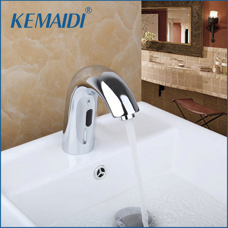 KEMAIDI Contemporary Hot And Cold Automatic Hands Touch Free Sensor ...