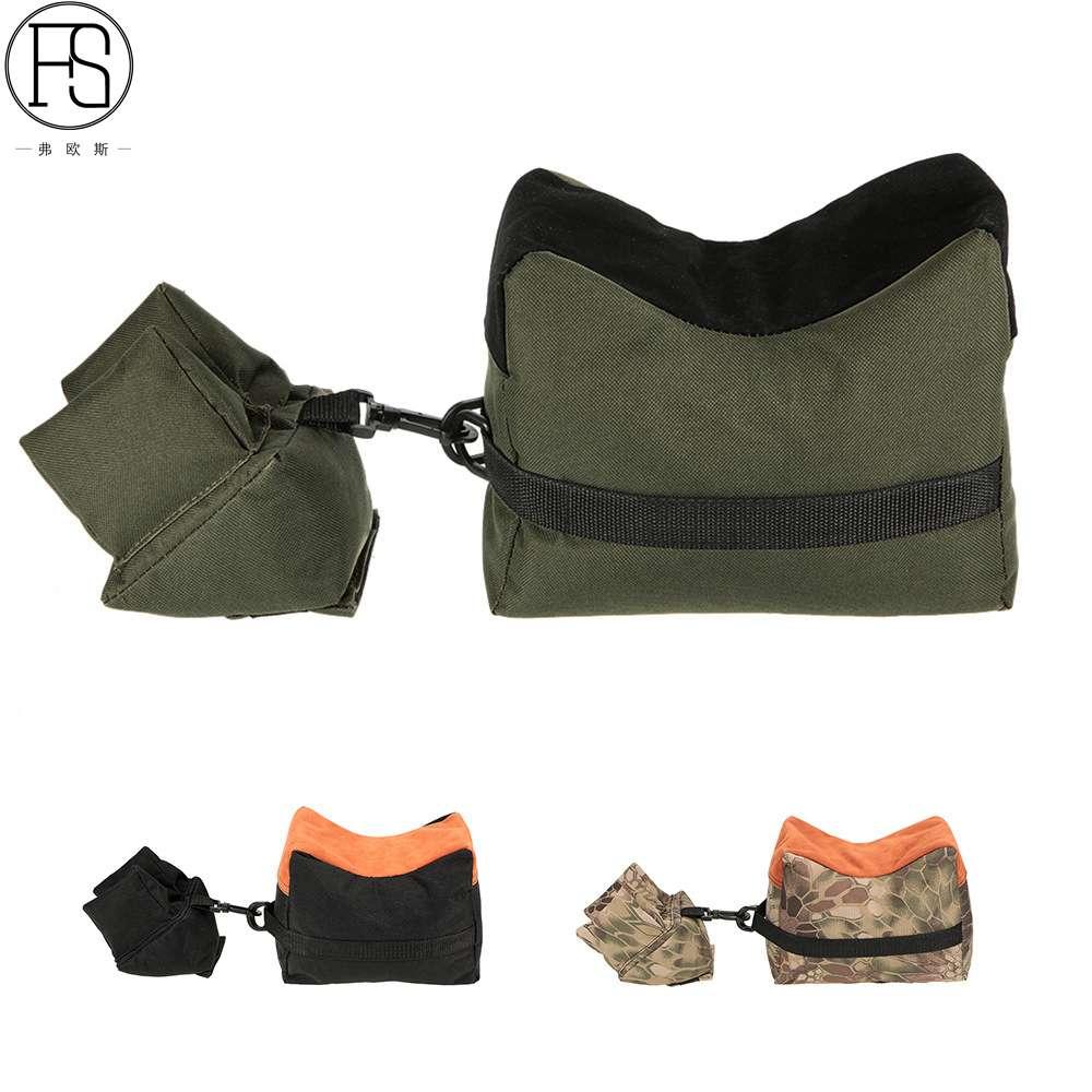 FS Sniper Shooting Bag Front Rear Bag Support Rifle Sandbag without Sand Sniper Target Stand