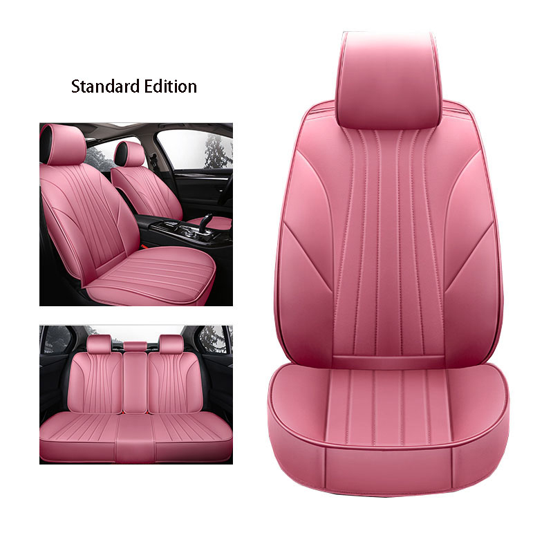 ETOATUO Leather Universal Car Seat Covers for Honda all models civic accord fit CRV Jazz City