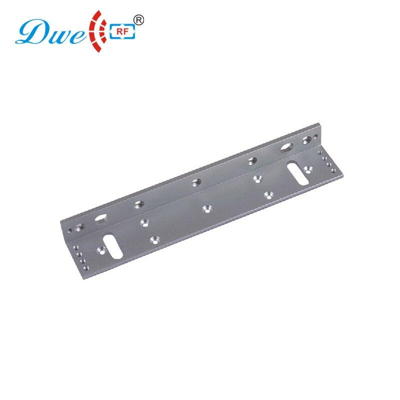 DWE CC RF access control electromagnetic lock bracket aluminum l bracket for 1200lbs holding force lock цена 2017