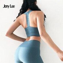Для женщин с низким вырезом на спине спортивный бюстгальтер для фитнеса укороченный топ спортивный бюстгальтер для йоги спортивная одежда пуш-ап мягкий бюстгальтер спортивный Femme спортивный бюстгальтер