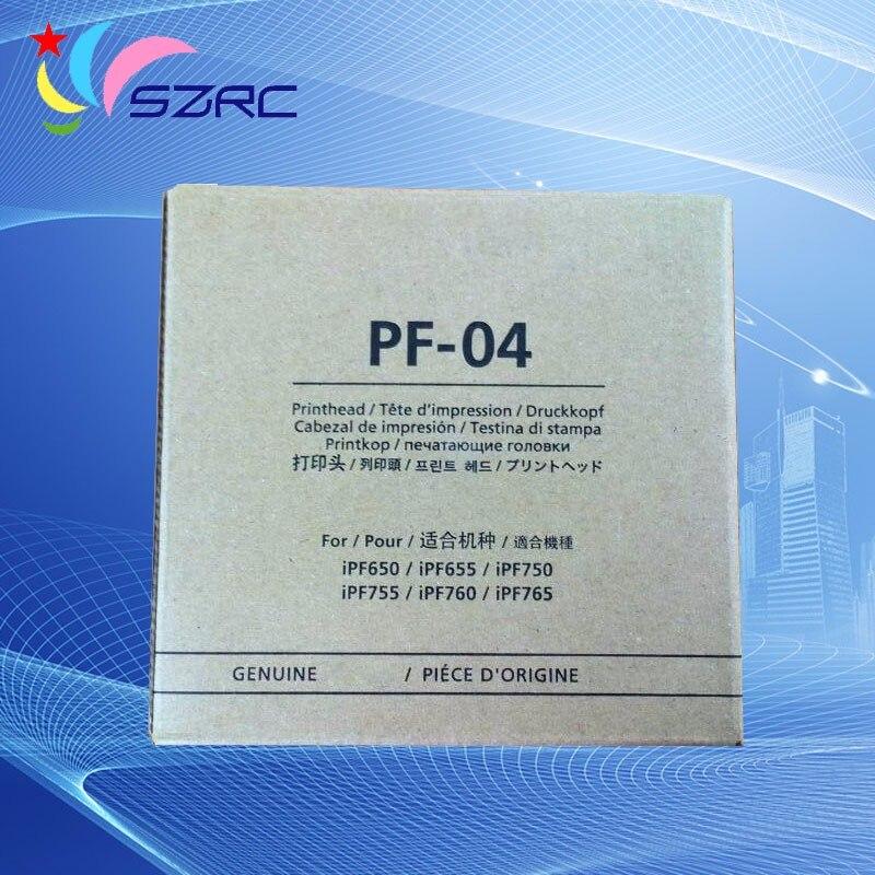 Remodelado Original PF-04 DA cabeça de Impressão Para Canon iPF650 iPF655 iPF750 iPF755 iPF760 iPF765 iPF680 iPF685 iPF780 iPF785 do Cabeçote de Impressão