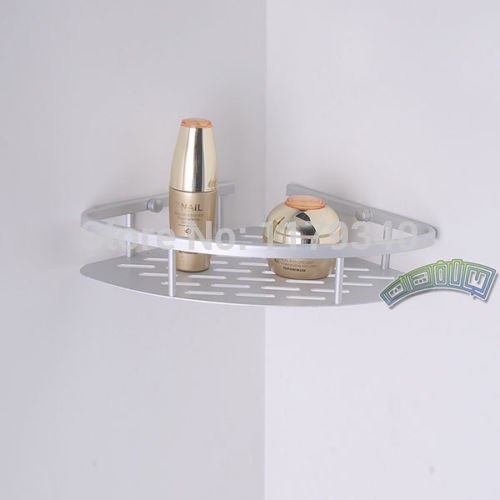 Corner Bathroom Soap Shampoo Shower Shelf Tower Holder Triangle Rack  Alumimum In Bathroom Shelves From Home Improvement On Aliexpress.com |  Alibaba Group