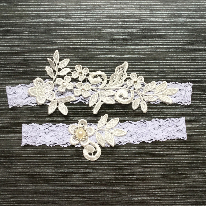 Aliexpress.com : Buy 2Pcs/set Wedding Bride Garter Lace