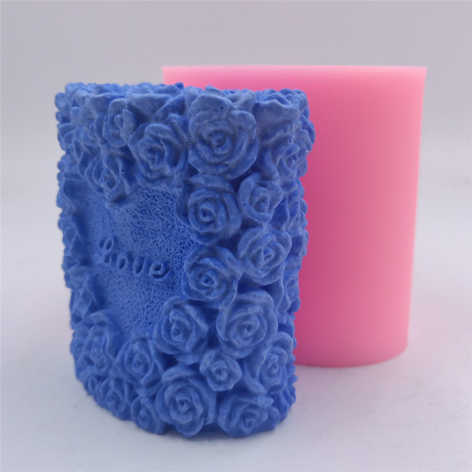 Rubber Butterfly Design Candle Mold Mould for Candle Making Craft Supplies