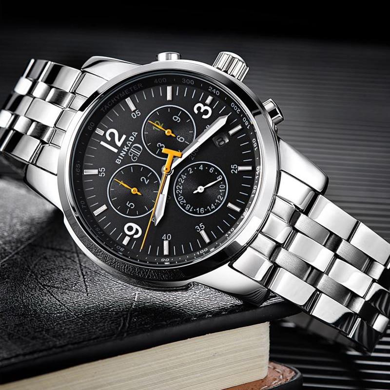 Reloj mecánico automático de los hombres de negocios informal 2018 - Relojes para hombres - foto 3