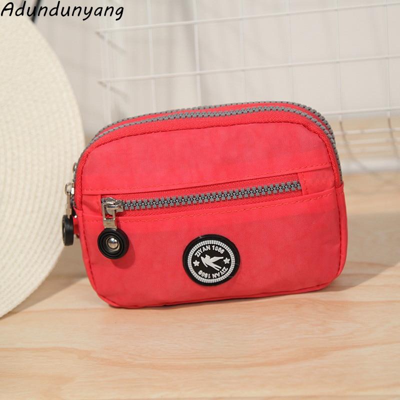 2018 Brand phone bag women men Wallet Wristlet Purses Women Money Bag High Quality Waterproof Nylon Clutches Coin Pocket