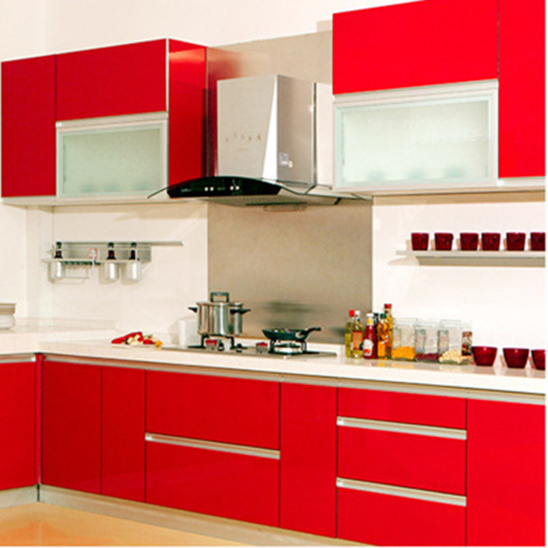 PVC Self adhesive Wallpapers Rolls Modern Kitchen Wall ...