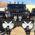 2PCS 6 Inch 40W Plus X CRE~ Round LED Driving Light, LED Off road light, LED work light for Je~p Wrangler JK CJ XJ TJ