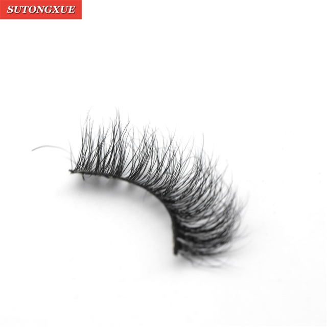 Girl Messy 3d False Eyelashes Classic Luxurious 100 Siberian Mink