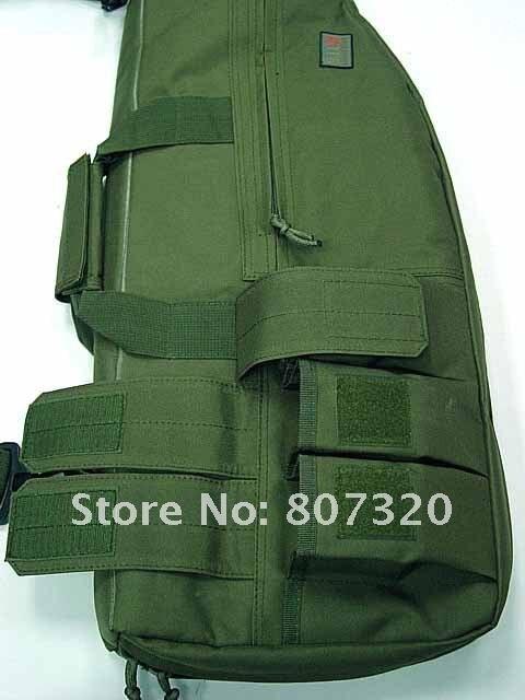 Dependable 29 Tactical Gun Bag Aeg Rifle Sniper Case Gun Bag Mag Pouch Od Sports & Entertainment Picnic Bags